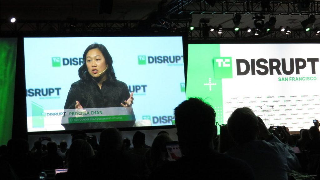 priscilla chan talking!